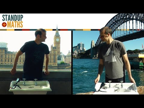 Thumbnail: The Coriolis Effect Test: two hemispheres, one sink