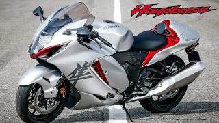 2022 Suzuki Hayabusa - Startup, Sound, Onboard, Design and Track dynamics