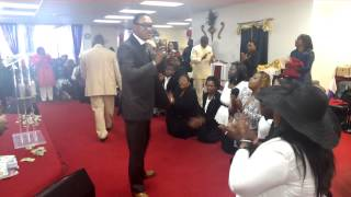 ANOINTING SERVICE For Issac Brown & G.A.N.G with their Apostolic covering Apostle Bala Abraham