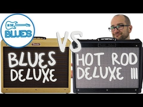 Fender Blues Deluxe vs Fender Hot Rod Deluxe III Amplifier