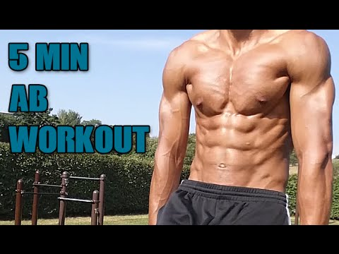 5 Minute Abs Workout – The Abnormal Assault