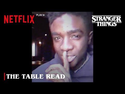 Stranger Things 4 | The Table Read