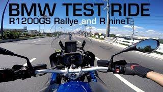 MotoVLOG: BMW R1200GS and R nineT Test Ride