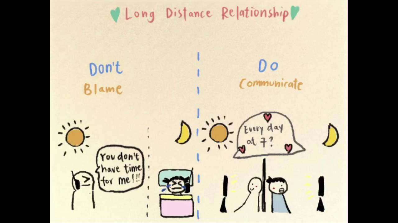 Life Hack - 5 things to remember when you are in a long distance  relationship