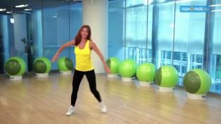 Скачать видео-урок Худеем танцуя Танцевальная аэробика