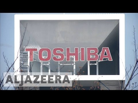 Japan's Toshiba under threat after $4.8bn loss