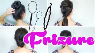 FRIZURE uz pomoć dodataka za kosu