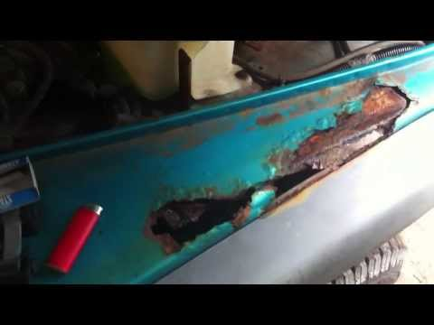 1997 Jeep TJ front fender repair