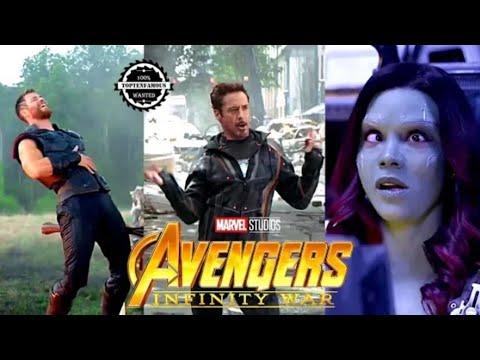 Avengers: Infinity War Behind the Scenes & Exclusive Making Video   Avangers 4 Short Clip [HD] 2019