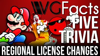5 Regional License Changes - VG Facts Five Trivia Feat. PortsCenter