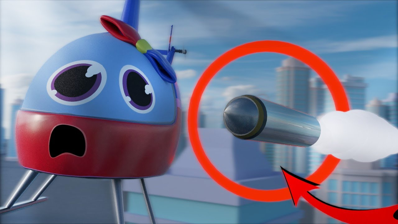 CITY IS SAVED FROM AIRPLANE CRAZY BATTLE SUPER CAR FORGOT ...