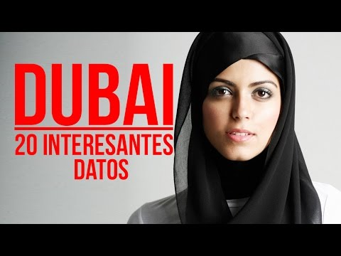Dubai: 20 INTERESANTES datos (Vídeo educativo)