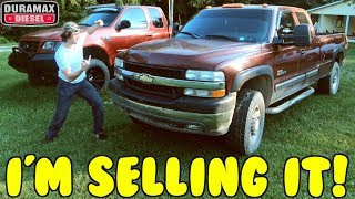 I'M SELLING THE DURAMAX!