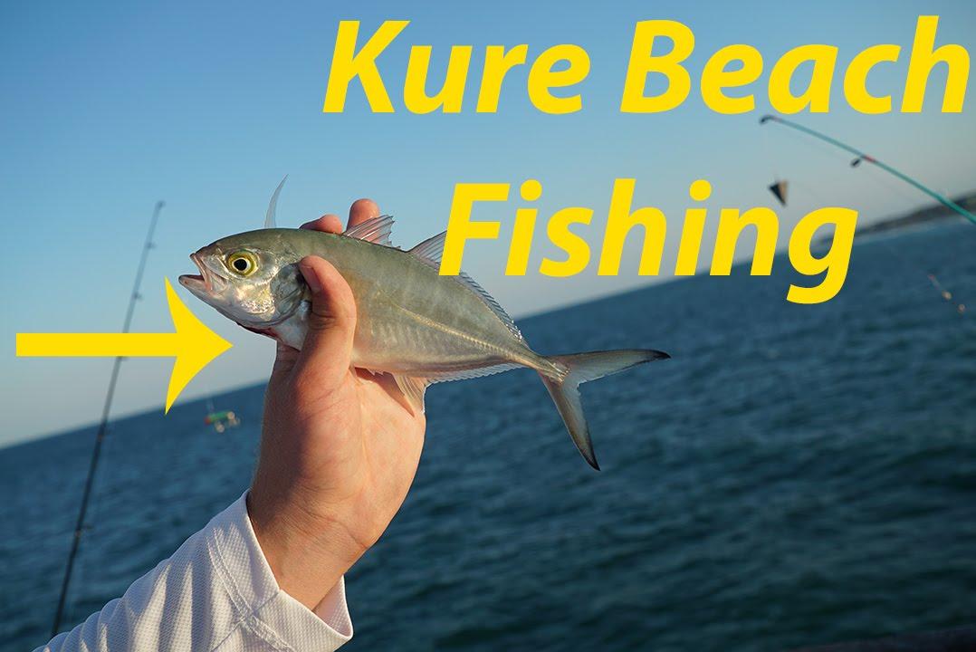 Kure beach pier fishing using a got cha lure youtube for Kure beach fishing report