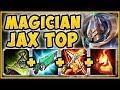 HIGHEST BURST DAMAGE UNLOCKED? MAGICIAN JAX IS 100% NUTTY! AP JAX TOP GAMEPLAY! - League of Legends