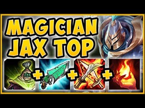 HIGHEST BURST DAMAGE UNLOCKED? MAGICIAN JAX IS 100% NUTTY AP JAX TOP GAMEPLAY - League of Legends