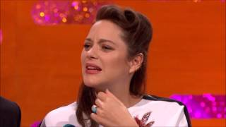 marion cotillard is amazing at lip syncing the graham norton show