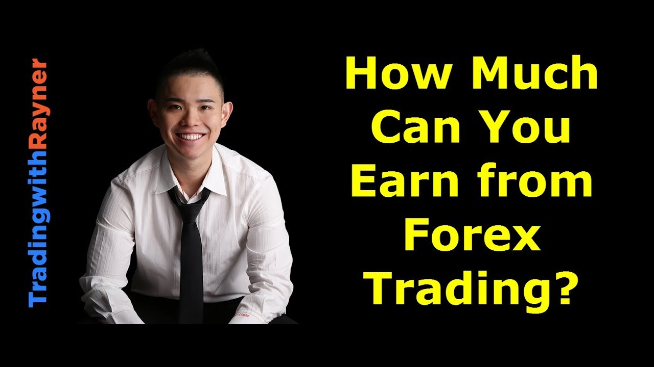 How much do forex traders make a day