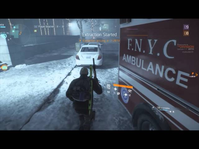 Tom Clancy's The Division beta: Tretamos na Dark Zone