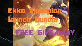 Ekko Champion Bundle [FREE GIVEAWAY]