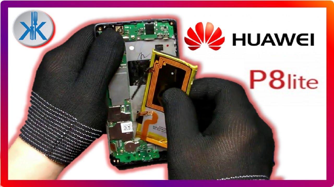 👍✓ Huawei P8 Lite ALE L21. Cambio pantalla LCD + Tactil + Trasera ...