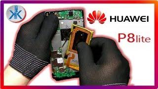 👍✔ Huawei P8 Lite ALE L21. Cambio pantalla LCD + Tactil + Trasera + reparacion marco