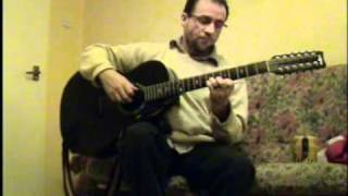 Excellent 12 string guitar playing: Original Instrumental:
