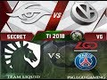 The International 2018 LIVE : [ENG] VGJ.Storm vs OG | EG vs Secret | OpTIC vs Sereneti | VP vs Mski