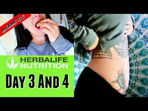 HOW TO LOSE WEIGHT FAST – GRAMMA TRYING TO SABOTAGE MY DIET –  HERBALIFE – DAY 3 & 4
