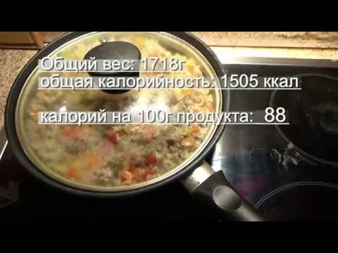 - Вкусные рецепты с расчетом калорийности
