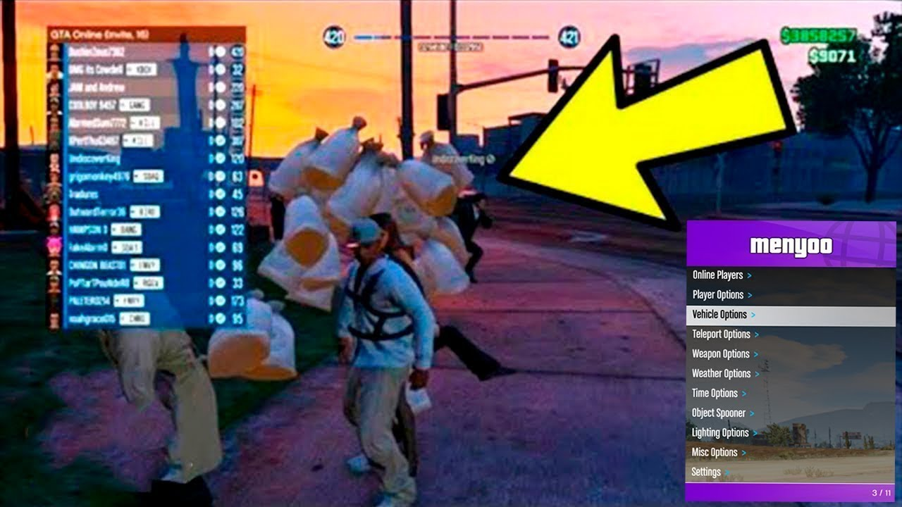 mod menu gta 5 ps4 story mode download
