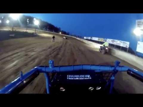Carmen Perigo Jr. Path Valley Speedway Heat Race 4-24-15