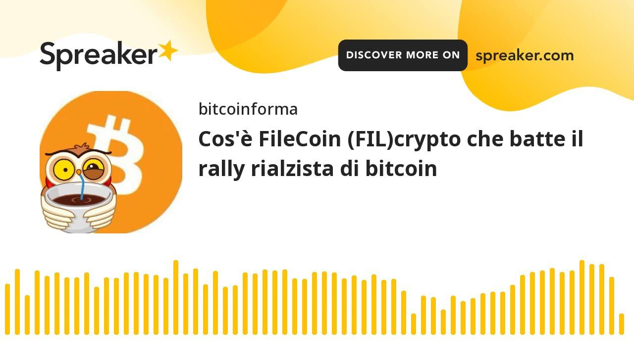 rialzista bitcoin mercato