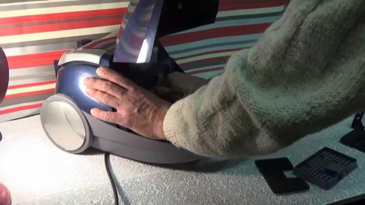 Пылесос слабая тяга - YouTube