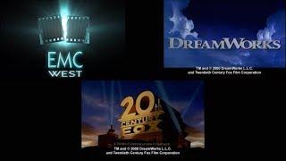 EMC West logo / DreamWorks Pictures / 20th Century Fox variant (?/1997/1996)