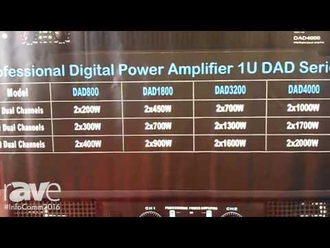 InfoComm 2016: Digihertz Audio Exhibits 1U DAD Series Amplifiers