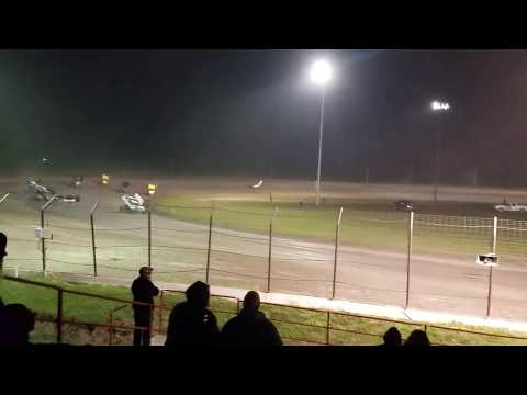 Sprint car race at Park Jefferson Speedway!!!🚗🚗