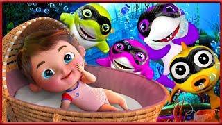 Baby Shark    +More Nursery Rhymes & Kids Songs - Banana Cartoons