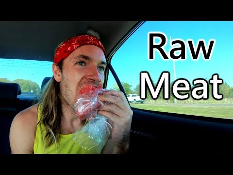 What I Eat In A Day On A Road Trip - Raw Meat - Paleo - Primal