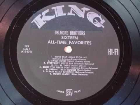 Delmore Brothers Full 1958 King LP 16 songs