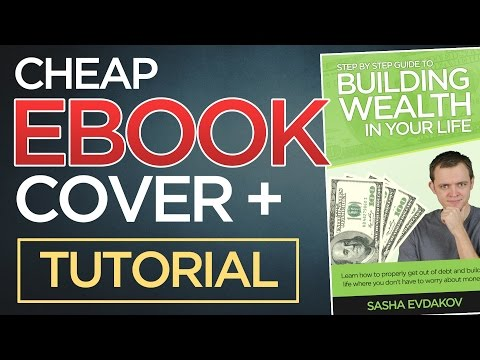 How to Get a Cheap eBook Cover Design + [Photoshop Tutorial] thumbnail