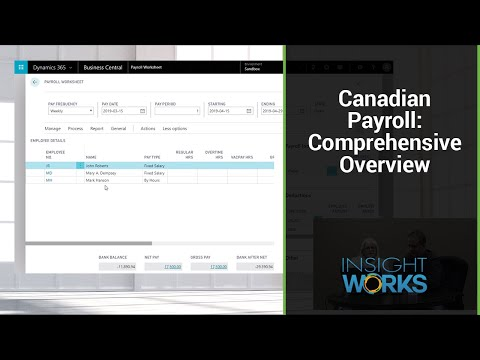 Canadian Payroll - Comprehensive Overview