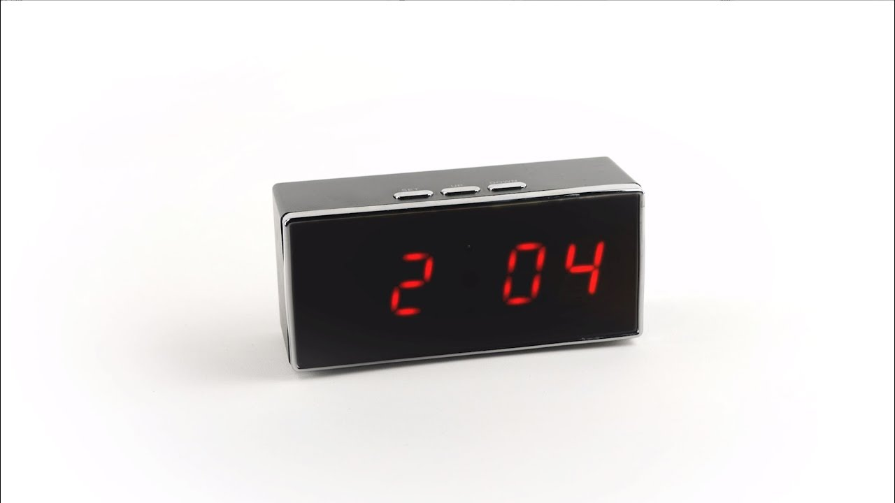 Digital Clock Sc550w 1080p Wifi Ip Digital Clock Nanny Camera