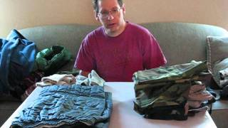 What I bring for winter camping (Clothes ) 3 of 13