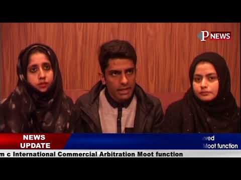 Law students of University of Kashmir in observed Annual Willem c