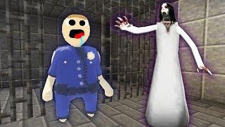 Коп Нуб пластилиновый человечек против Слендерина побег из тюрьмы ! Как сделать портал в Пластилин