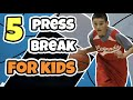 Top 5 Kids Press Break Basketball Plays
