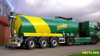 Heitling Fahrzeugbau 39 t Flüssigmist-Transportfahrzeuge / Zubringer