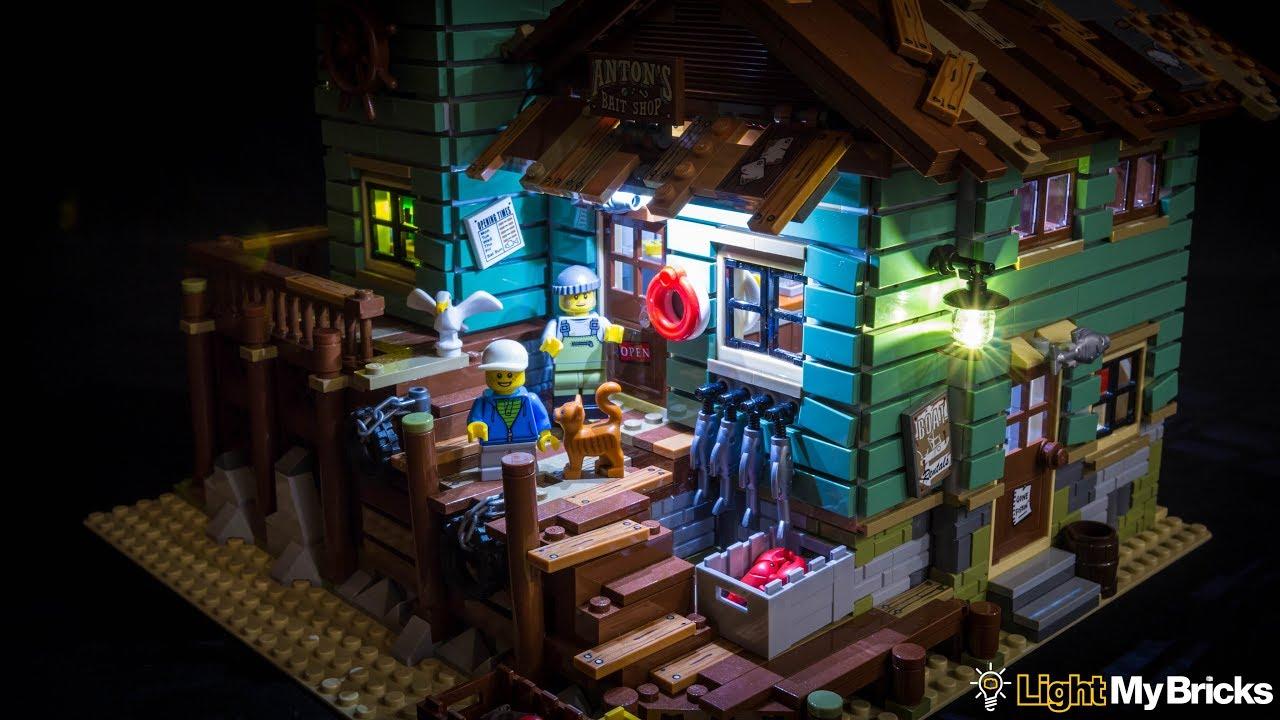 Light my bricks lego old fishing store 21310 led light kit for Lego old fishing store