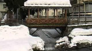 Moena Val di Fassa Dolomiti e Hotel Catinaccio Rosengarten.wmv